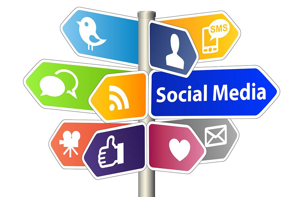 Neu auf den sozialen Medien